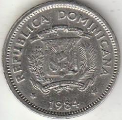 מטבע > 5סנטאבו, 1983-1987 - הרפובליקה הדומיניקנית  - reverse
