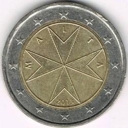 錢幣 > 2歐元, 2008-2017 - 馬爾他  - reverse