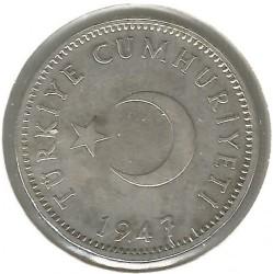 Moneta > 1lira, 1947-1948 - Turkija  - obverse