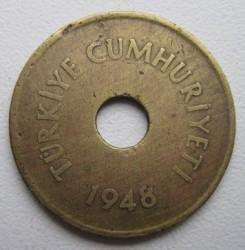 Moneta > 2½kurušo, 1948-1951 - Turkija  - obverse