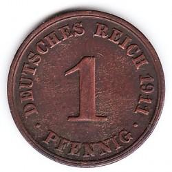 Монета > 1пфенниг, 1890-1916 - Германия  - reverse