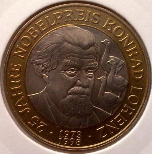 50 Schilling 1998 Konrad Lorenz österreich Münzen Wert Ucoinnet