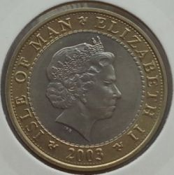 Moneta > 2sterline, 2000-2003 - Isola di Man  - reverse