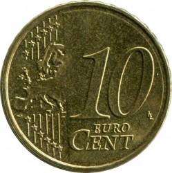 Монета > 10евроцентов, 2010-2019 - Испания  - obverse