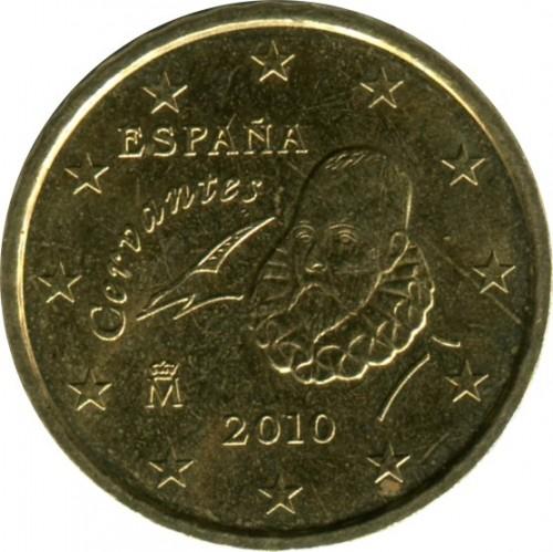 10 Eurocent 2010 2018 Spanien Münzen Wert Ucoinnet