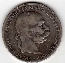 Moneda > 5kronen, 1900-1907 - Àustria  - obverse