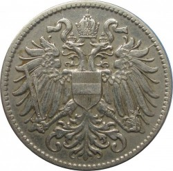 Moneta > 10 hellers, 1916 - Austria  (Austrian flag on shield) - obverse
