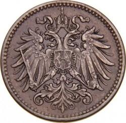 Moneda > 1heller, 1892-1916 - Àustria  - obverse