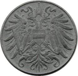 Moneta > 2hellers, 1916-1918 - Austria  - obverse