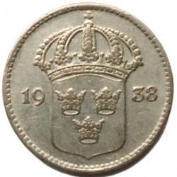 Munt > 10ore, 1909-1942 - Zweden  - obverse