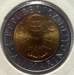 العملة > 500ليرة, 2000 - سان مارينو  - obverse