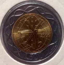 العملة > 500ليرة, 2000 - سان مارينو  - reverse