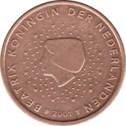 Νόμισμα > 5Σέντς, 1999-2013 - Ολλανδία  - obverse