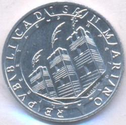 Монета > 5лір, 1992 - Сан-Марино  (500 років відкриттю Америки) - obverse