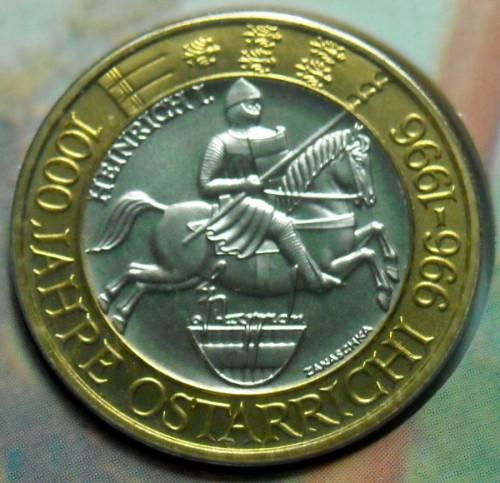 50 Schilling 1996 1000 Jahre österreich österreich Münzen Wert