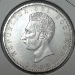 Pièce > 2sucres, 1944 - Équateur  - obverse