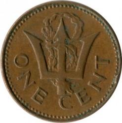 سکه > 1سنت, 1976 - باربادوس  (10th Anniversary of Independence) - reverse