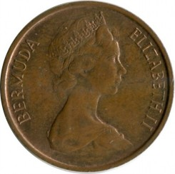 Մետաղադրամ > 1ցենտ, 1970-1985 - Բերմուդա  - reverse