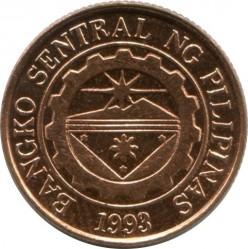 Mynt > 10sentimos, 1995-2017 - Filippinene  - reverse