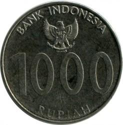 Монета > 1000рупій, 2010 - Індонезія  - obverse