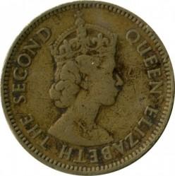 Moneda > 10centavos, 1955-1968 - Hong Kong  - reverse