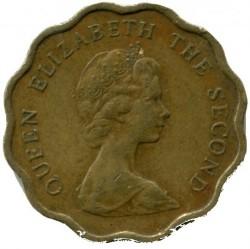 Coin > 20cents, 1979 - Hong Kong  - obverse