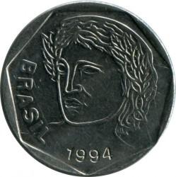 Coin > 25centavos, 1994-1995 - Brazil  - reverse