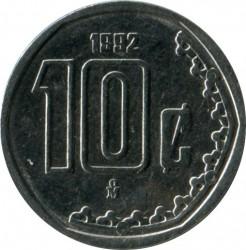 Moneta > 10centavos, 1992 - Messico  - obverse