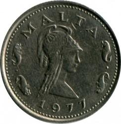 Монета > 2цента, 1972-1982 - Мальта  - reverse