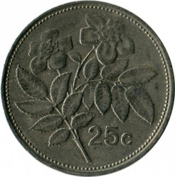 Moneta > 25centów, 1986 - Malta  - obverse