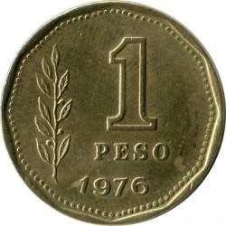 Moneda > 1peso, 1974-1976 - Argentina  - reverse