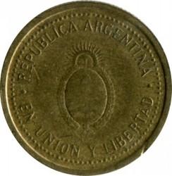 Монета > 10сентаво, 1992-2006 - Аргентина  - obverse