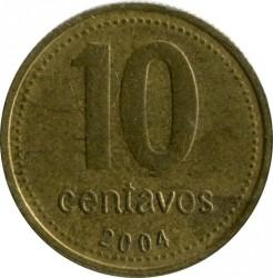 Монета > 10сентаво, 1992-2006 - Аргентина  - reverse