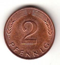 Münze > 2Pfennig, 2000 - Deutschland  - reverse