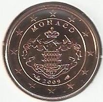 Monēta > 1eurocent, 2006-2017 - Monako  - obverse
