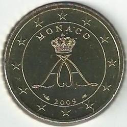 Монета > 50евроцентов, 2009-2017 - Монако  - obverse
