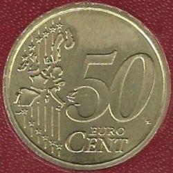 Mynt > 50cents, 2002-2005 - Vatikanstaten  - reverse