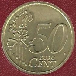 Mynt > 50eurocent, 2002-2005 - Vatikanstaten  - reverse