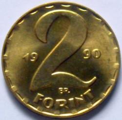 Moneta > 2fiorini, 1990 - Ungheria  - reverse