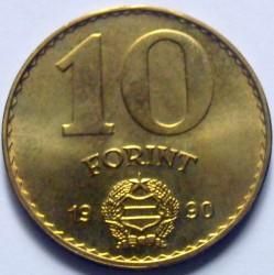 Moneta > 10fiorini, 1990 - Ungheria  - reverse
