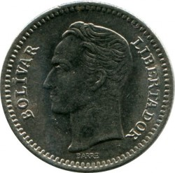 Νόμισμα > 25Σεντίμος, 1965 - Βενεζουέλα  - reverse