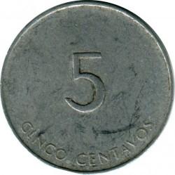 Münze > 5Centavos, 1988 - Kuba  (INTUR) - obverse