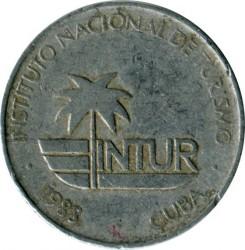 Münze > 5Centavos, 1988 - Kuba  (INTUR) - reverse