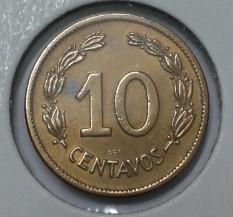 Монета > 10сентавос, 1942 - Еквадор  - obverse