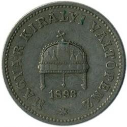 Moneta > 20filler, 1892-1914 - Ungheria  - obverse