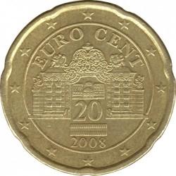 Coin > 20cents, 2008-2017 - Austria  - obverse