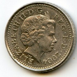 Монета > 5пенсів, 1998-2008 - Велика Британія  - obverse