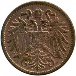 Moneda > 2heller, 1892-1915 - Àustria  - obverse