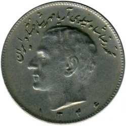 Moneda > 10rials, 1966-1973 - Iran  - obverse