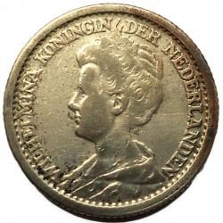 מטבע > 25סנט, 1910-1925 - הולנד  - obverse
